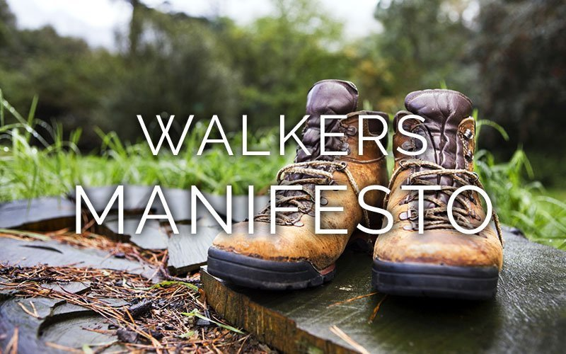 The Wilderness walkers manifesto